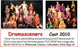 2010 Drama Sceners